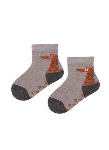 Katia & Bony Giraffe 2'Li Bebek Soket Çorap  Mavi